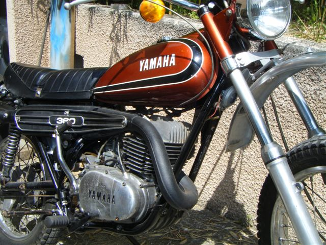 The YAMAHA 360 RT